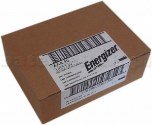 120 x Bateria Energizer Industrial AAA LR03 prod.2021