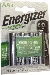 Akumulator Energizer AA HR6 2000 mAh  Power Plus /4szt.