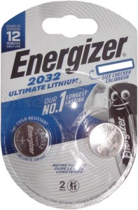 Bateria Energizer Ultimate CR2032 /2 szt.