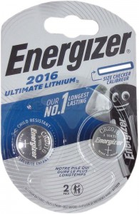 Bateria Energizer  Ultimate CR2016 /2 szt.